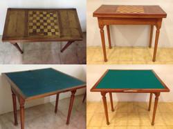 Mesa de juegos restaurada