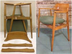 sillón años 50 restaurado