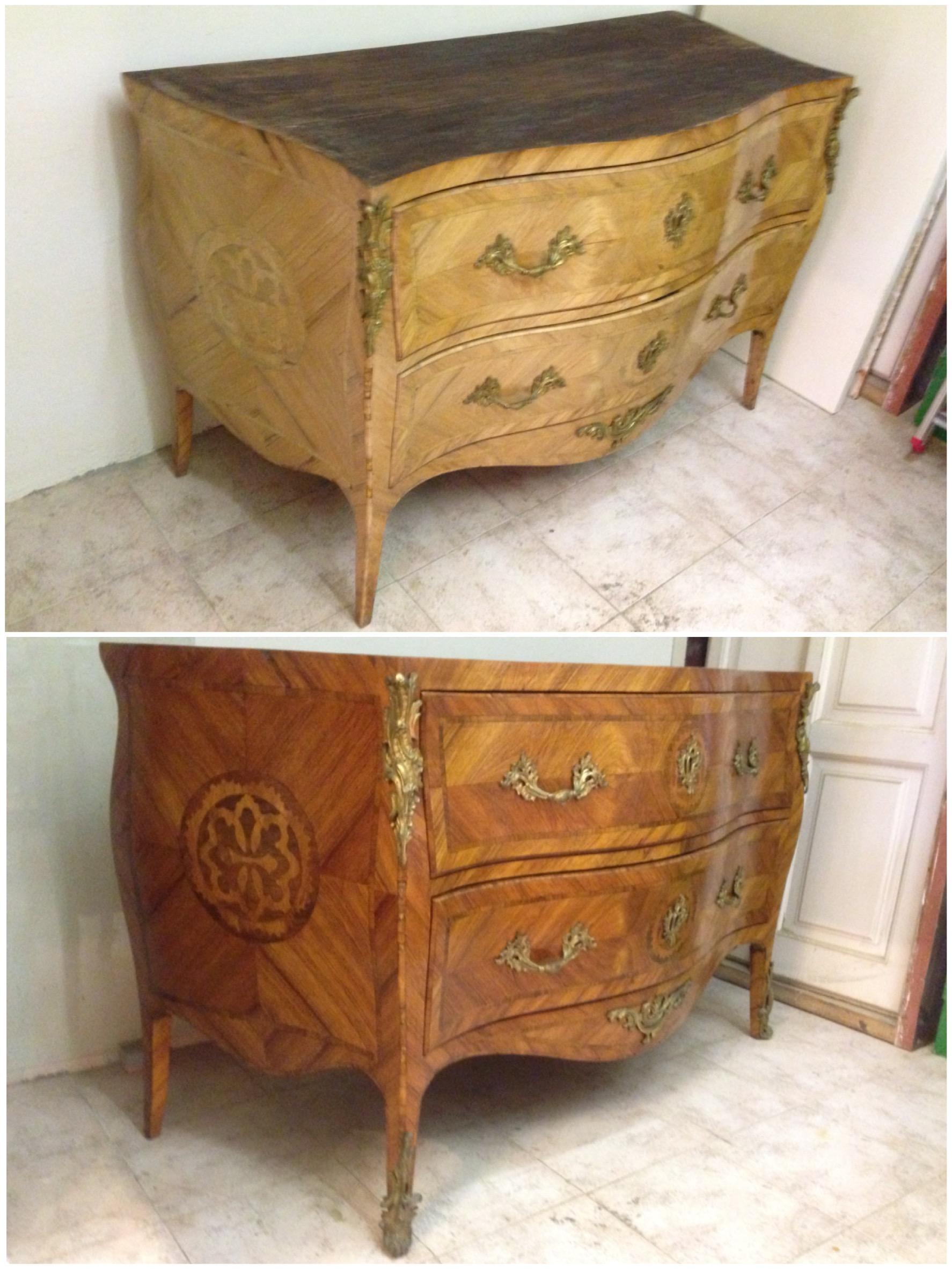 Cómoda antigua restaurada