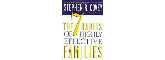 Book Cover the 7 habits of highly effective families