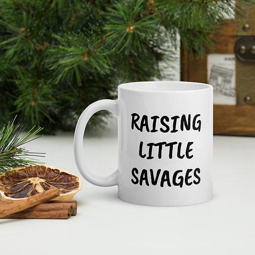Raising Little Savages Mug
