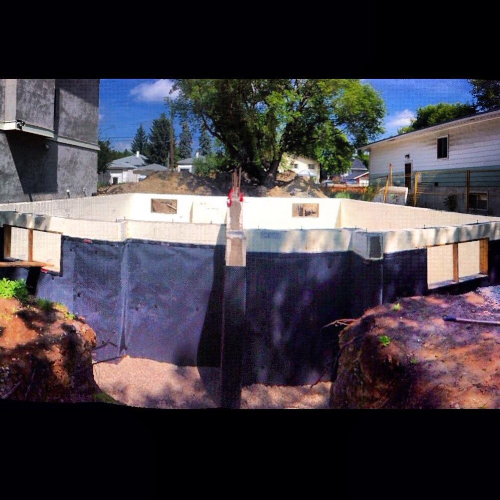 Waterproofing/ ICF foundation