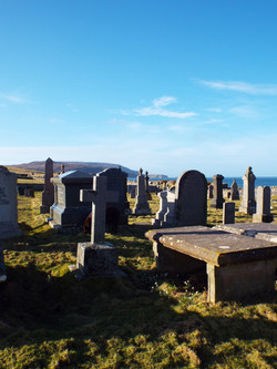 The graveyard at Balnakeil