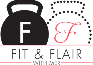 Fit and Flair with Mer Logo
