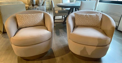 $1810 - 2 Swivel Chairs