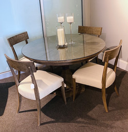 $4,999 - Table with leaf & 6 chairs