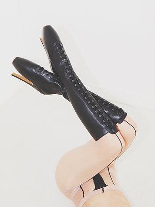 Original Knee-high Leather Ballet Boots