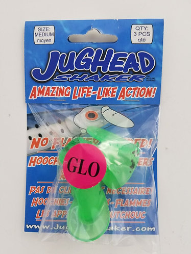 Medium Jughead 3 Pack – Green Spatterback Glow