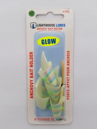 4 Pack Anchovy Bait Holder – Glow Pearl