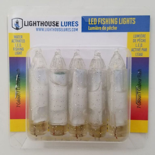 5pc LED Fishing Light – 7 Colour Flash