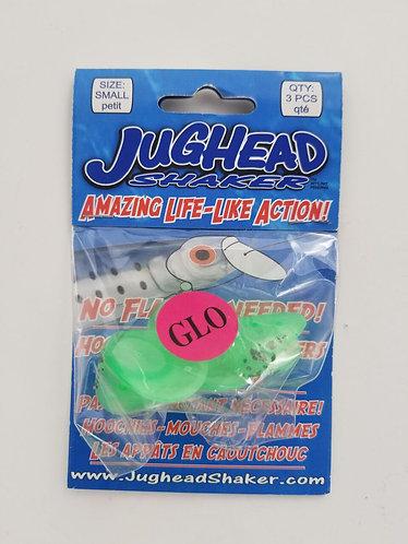 Small Jughead 3 Pack – Green Spatterback Glow