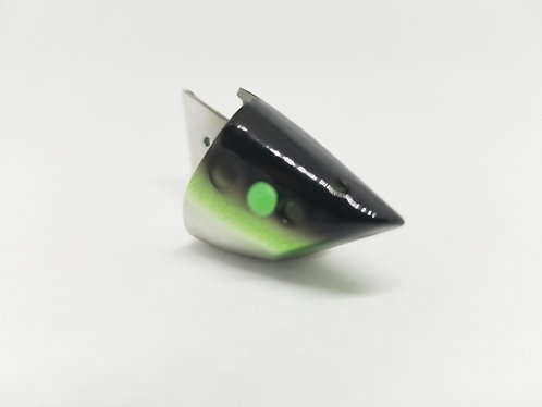 Anchovy Bait Holder Bulk- Black Green Chrome