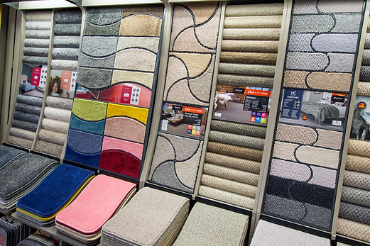 Kings Carpets and Flooring York - Carpets Lifestyle Floors display stands