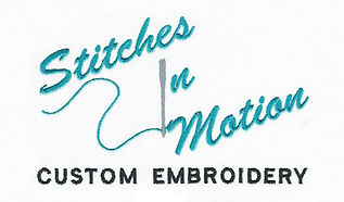 Stitches in Motion Custom Embroidery