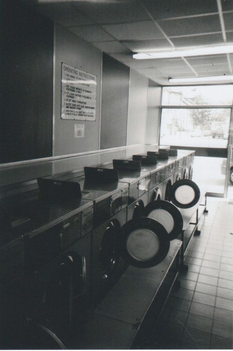 'The Laundrette looked so empty. All the doors were open. I thought 'That actually looks quite artistic'. I always look as things in a perspective way. If I see something that catches my eye I usually take a picture.' Daniel Bruce, who recently finished a BTech Level 2 in Art. Twickenham College, was a head chef in a restaurant but lost his job, apartment and girlfreind in 2009 and ended up sofa surfing and sleeping rough. He says St Mungo's Broadway has helped him. CASS, for people who have problems with alcohol and drug use, has helped him too. 'I went to coffee mornings and alcohol meetings and listened to other people's stories. It basically opened my eyes. I realised that I needed to sort myself out instead of abusing myself. I went through a hard time. I was using the alcohol because of my depression and just kept carrying on drinking.' Daniel is now on a new path. 'I'm going to the gym, I study art, I'm selling some of my paintings, doing a couple of exhibitions, so I'm really pushing forward so it's really good.'