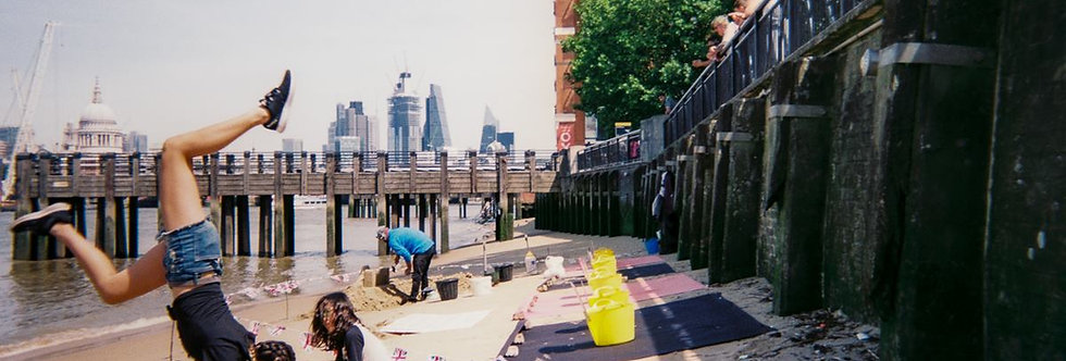 ORIGINAL PHOTO Thames Beach by Paul McGrail