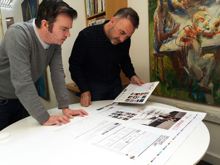 Calendar's at the printers – thank you My London designers!