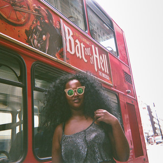 EXHIBITION ONLY: Bat out of Hell, Fitzrovia: Suban goes to the art group run by One Support in Camden Town. She became homeless years ago when bringing up a child, and now lives in Haringey.