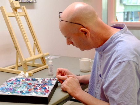 Meet James Gray, Artist In Residence