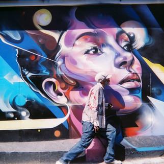 Streetart strut by James Robson