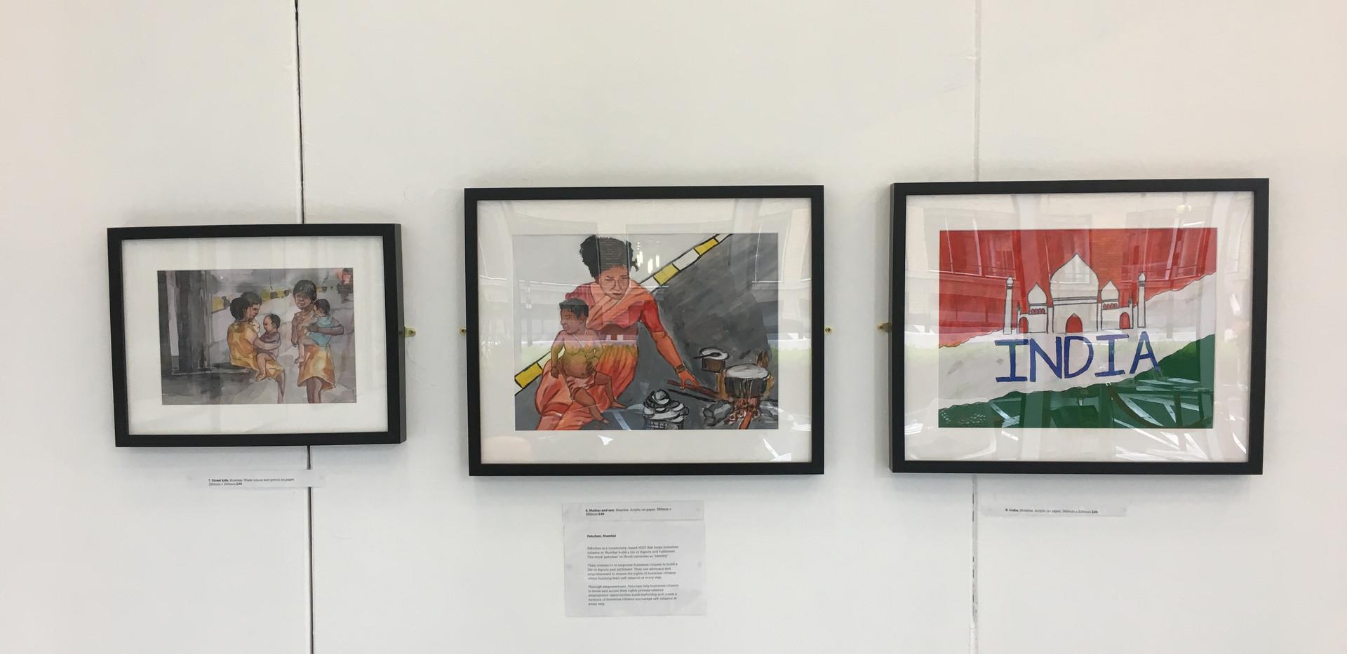 Mumbai artworks