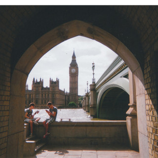 August in 2015 MY LONDON calendar. 'It was one of the last shots on the camera', says ROL, who is a member of ARTFitzrovia and 240 Project. 'This is on the bike path on the South Bank, along the Thames. I looked back and there was this amazing view.' Born in Croydon from Trinidadian parents, ROL worked as a chef for many years. He was first homeless about six years ago and is currently sofa-surfing and house-sitting. 'The rents are getting very expensive in London. Some people are struggling. They work 40 hours a week and they are struggling to pay their rent. This is a sad phenomenon in London where something has to be done to control rent prices.' ROL supports housing rights organisations including Occupy London and People Before Profit: 'I support campaigns which think Londoners should not be paying exorbitant rent.'