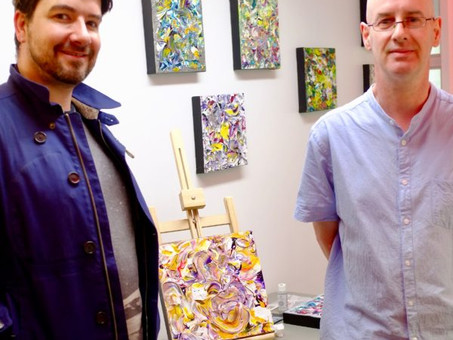 First solo exhibition for Cafe Art artist James Gray