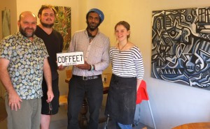 The artists are appearing at CoffeeE7 too!