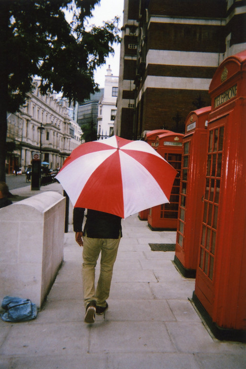 Photo by XO, chosen by public vote for April in 2016 My London calendar. 'It was raining lightly. As I was looking through the camera lens, wondering which angle to take the photo from, this guy walked past with his umbrella and I seized the opportunity to snap it,' says XO who photographed these listed telephone boxes near Lincoln's Inn. 'I Googled the location and discovered they're Grade II listed and that the shorter ones are unique to London, which I thought was cool and also in keeping with the My London theme. Although very rarely used these days, I love the fact they're still around. They're synonymous with our capital and this city wouldn't be the same without them, so I'm happy they're protected.' XO goes to the Crisis Skylight building in Whitechapel. 'I've had a passion for, and interest in, photography since my teens, but consider myself a novice and would like to go on a course to learn the ropes.'
