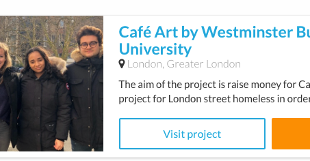 London students set up crowdfunder for Cafe Art