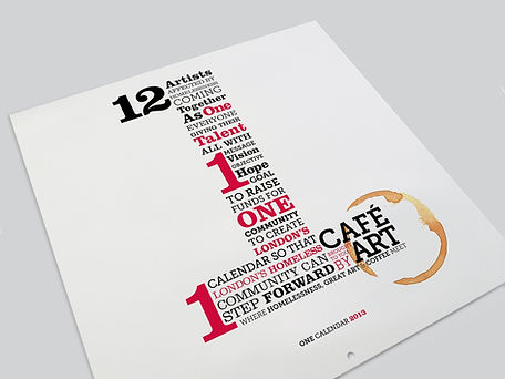 The first calendar was in 2013 and featured 12 artists.