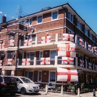 Allisa Christie East London estate during World Cup
