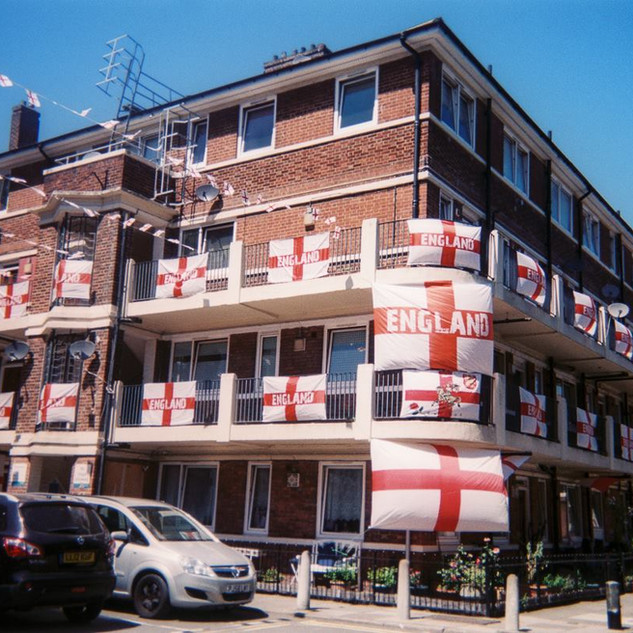 Allisa Christie East London estate during World Cup