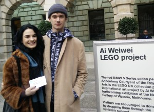 Only one 'wei' to get to The Royal Academy …