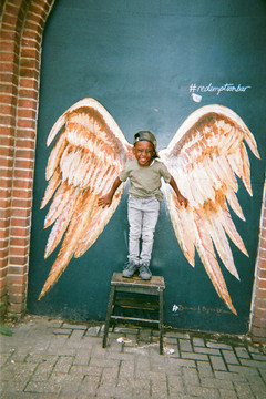 Angel Kid, London, by Maya Simeon