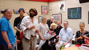 The faces behind the brush strokes
