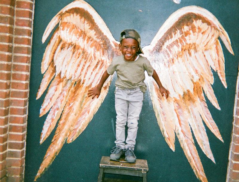 Angel Kid by Maya Simeon