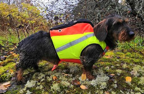 Tracker kardog Flytevest for små hunder