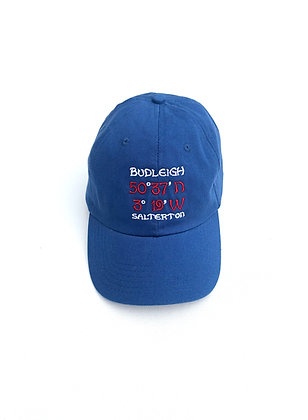 Budleigh Salterton Coloured Baseball Cap