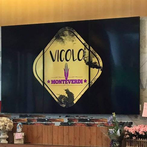 Vicolo - Video Wall