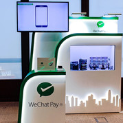 Wechat Pay - Transparent Display Box