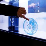 MoCC - Interactive Transparent Display
