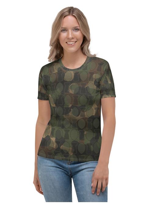 Women's Guam Camo T-shirt