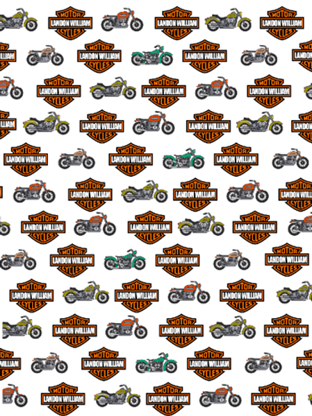 Personalized Motorcycle Blanket