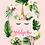 Thumbnail: Personalized Chamorrita Unicorn Blanket