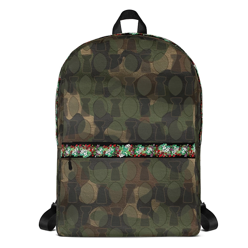 Camo + Flora Backpack