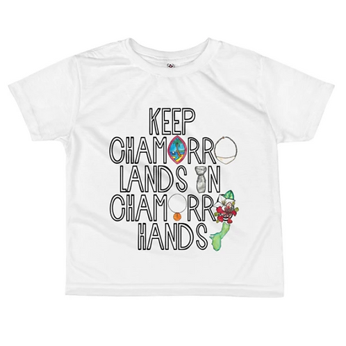 Chamorro Lands Patgon T-shirt
