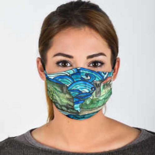 Guam Scenery Face Mask