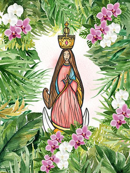 Santa Marian Kamalen Orchid Blanket