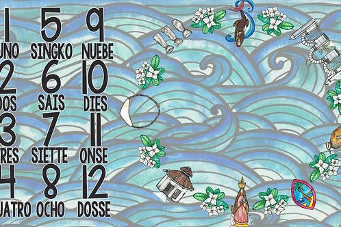 Guam Icon Milestone Tapestry